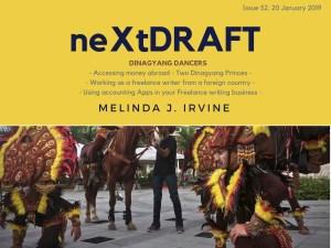 neXtDRAFT an eZine by Melinda J. Irvine Issue 52