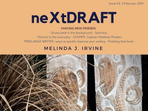 neXtDRAFT an eZine by Melinda J. Irvine Issue 53.