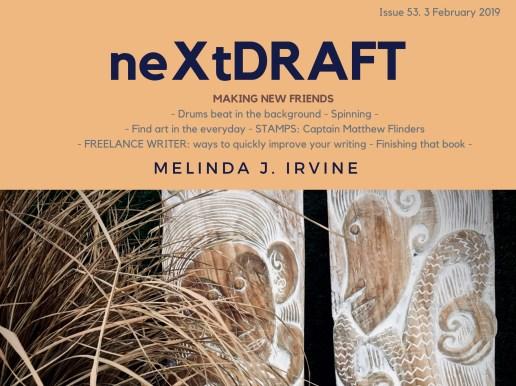 neXtDRAFT an eZine by Melinda J. Irvine Issue 53.