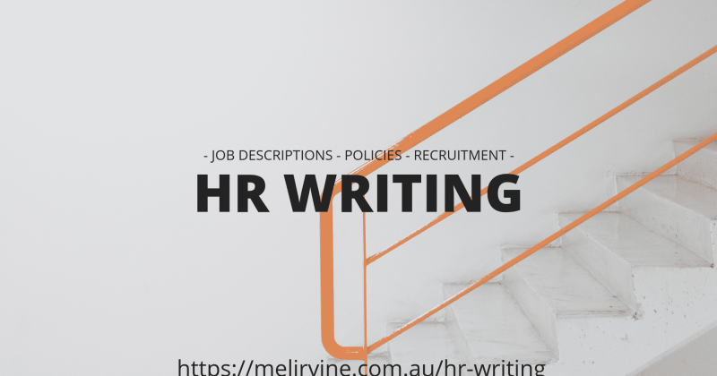HR writing service of Melinda J. Irvine (1)