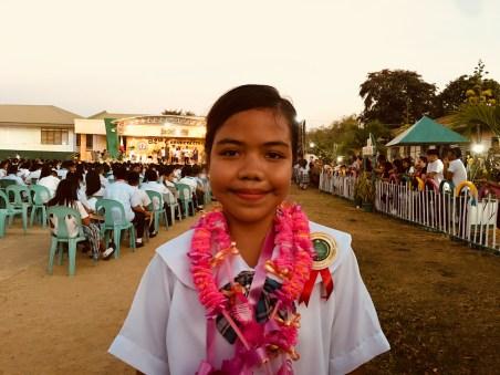 jylyn graduates grade 6