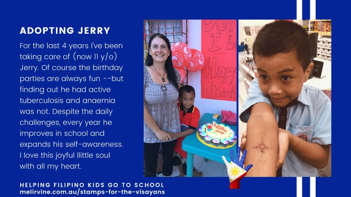 stamps for the visayans - introducing Jerry and Tita Mel