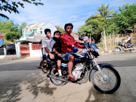 ryan takes the kids to school