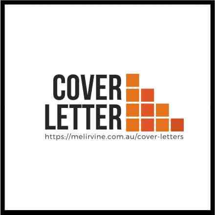 get a professional written cover letter @ Melinda J. Irvine