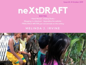 neXtDRAFT an eZine by Melinda J. Irvine Issue 63.
