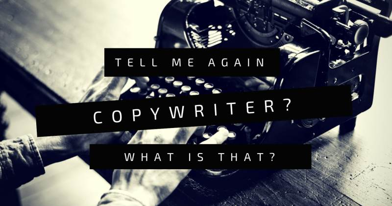 what is a copywriter by Melinda J. Irvine