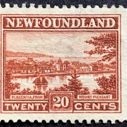 1923 Newfoundland Scenes 20c Brown Used SG 161