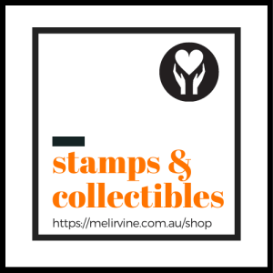 selling postage stamps and collectibles for kids in the Philippines @ melirvine.com.au