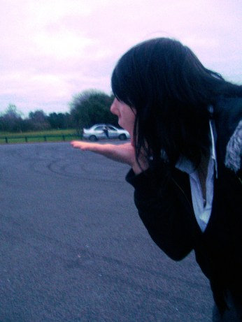 Ohh, y'know. Just casually eating a car.