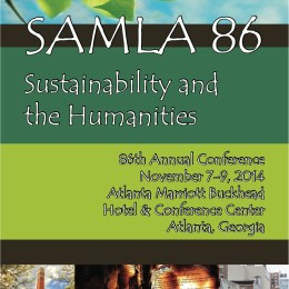 "Presenting ""Poetry as Change: Transforming Tragedy"" at SAMLA 2014"