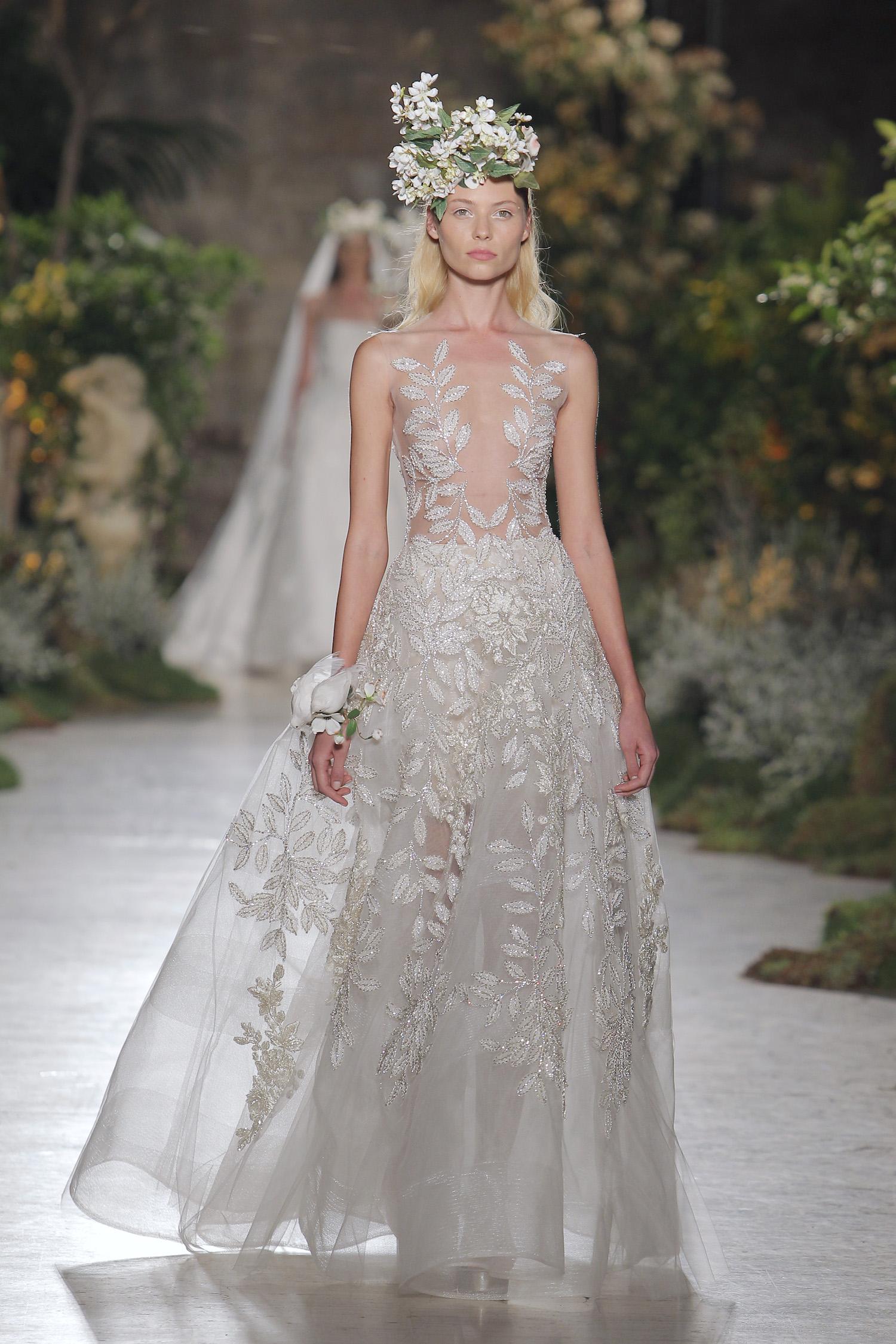 Resultado de imagen de vestido novia reem acra
