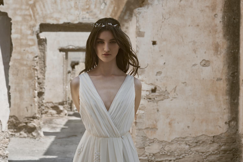 Vestido de novia inspiracion mexicana