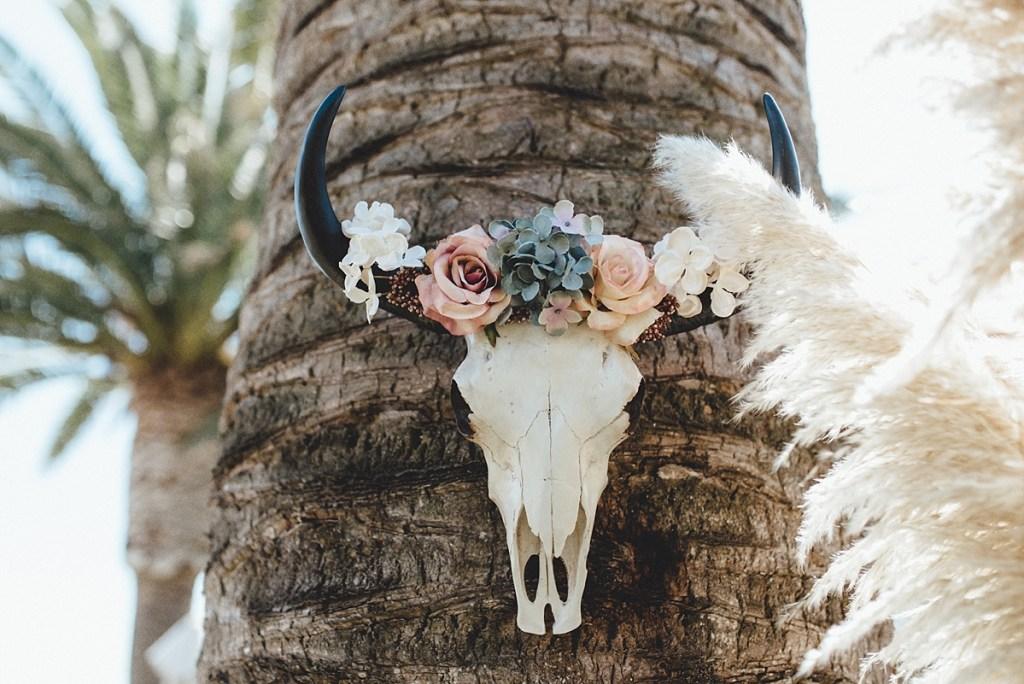 Colores apagados decoración boda