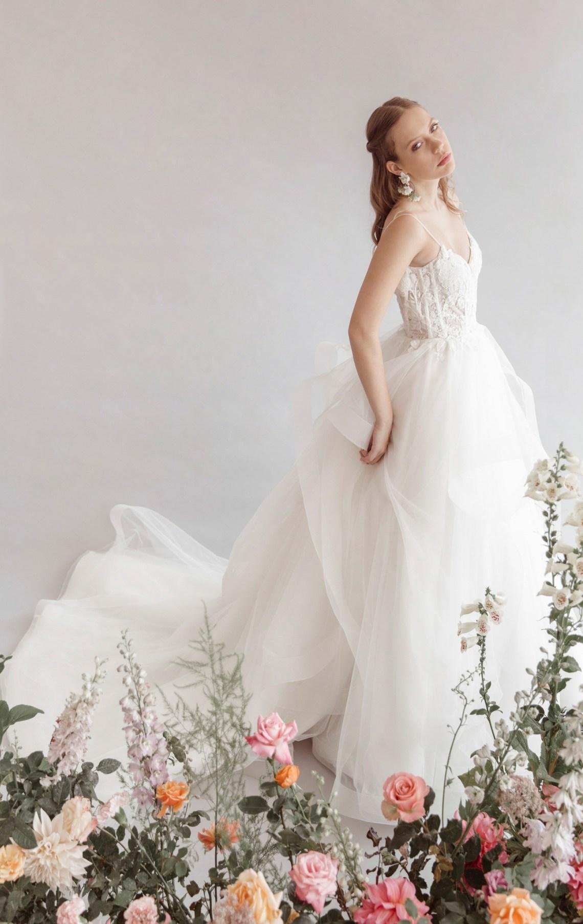 Adriana Madrid vestidos de novia