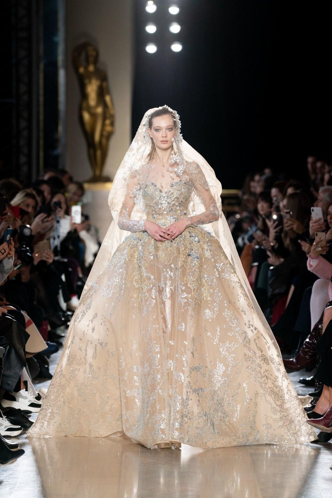 Vestidos de novia alta costura primavera 2019