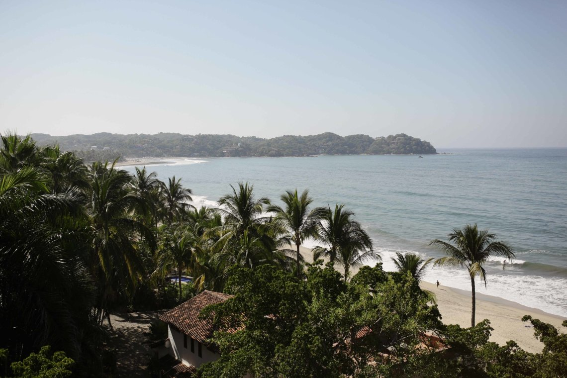 Boda romántica en la playa de Sayulita