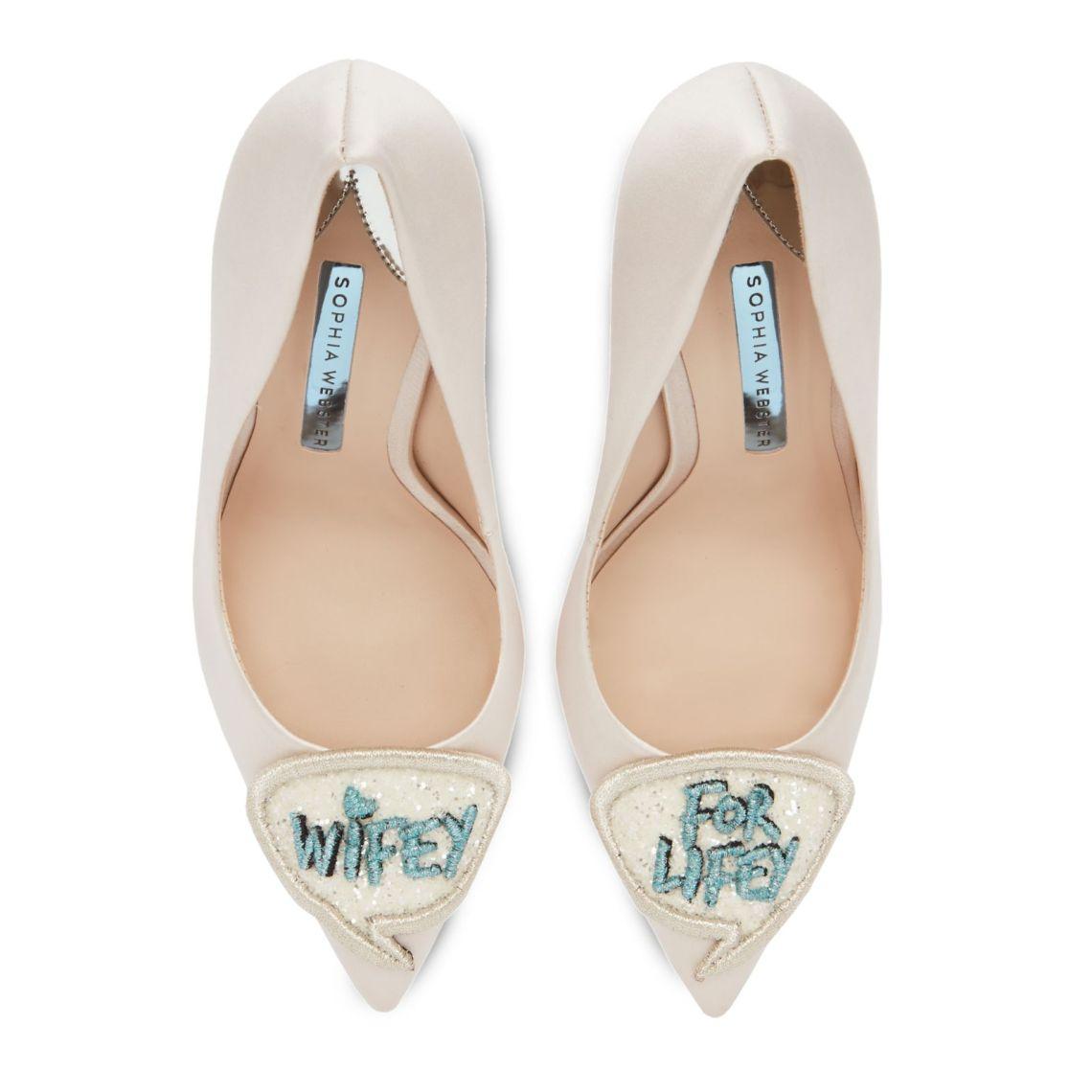 Zapatos de lujo para novias diferentes