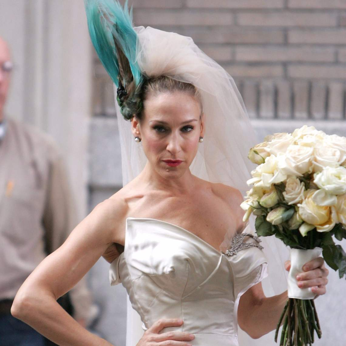 Vestido de novia Carrie Bradshaw