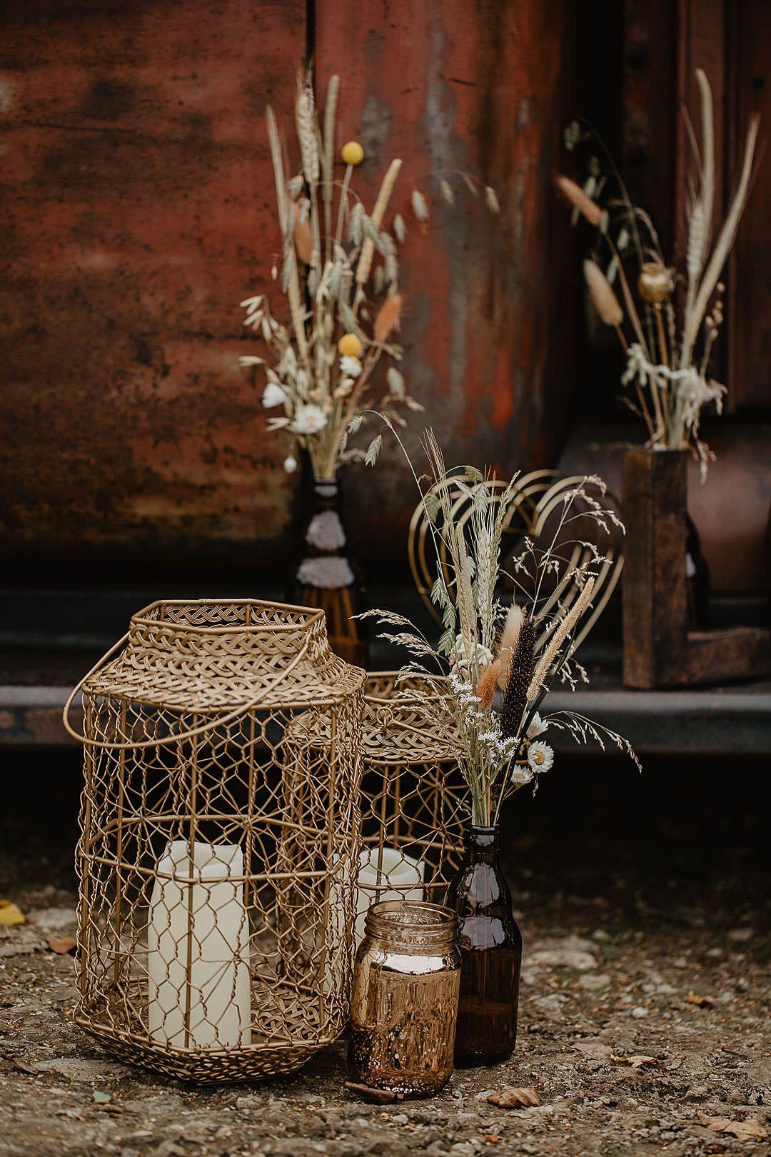 Ideas originales para una boda rústica al aire libre