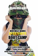 BELLY DANCE INTENSITY BOOT CAMP WORKOUT