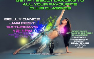 SUMMER 4 WEEK BELLY DANCE WORKOUT WK1 AUGUST 2020
