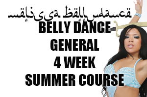 4 WEEK SUMMER BELLY DANCE CLASSES COURSES london