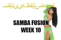 SAMBA FUSION WK10 SEPT-DEC 2018