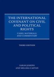 ICCPR: Cases Materials, Commentary