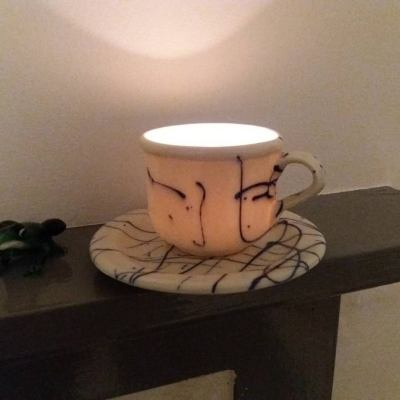 Teacup Candle Holder