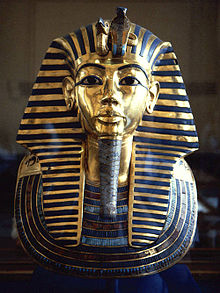 Sarcophagus of Tutankhamun, Mixed Media, 14th century BCE, Egyptian