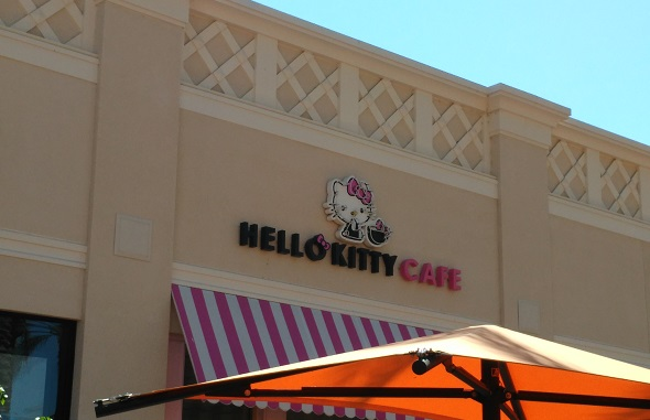 Hello Kitty Cafe Irvine