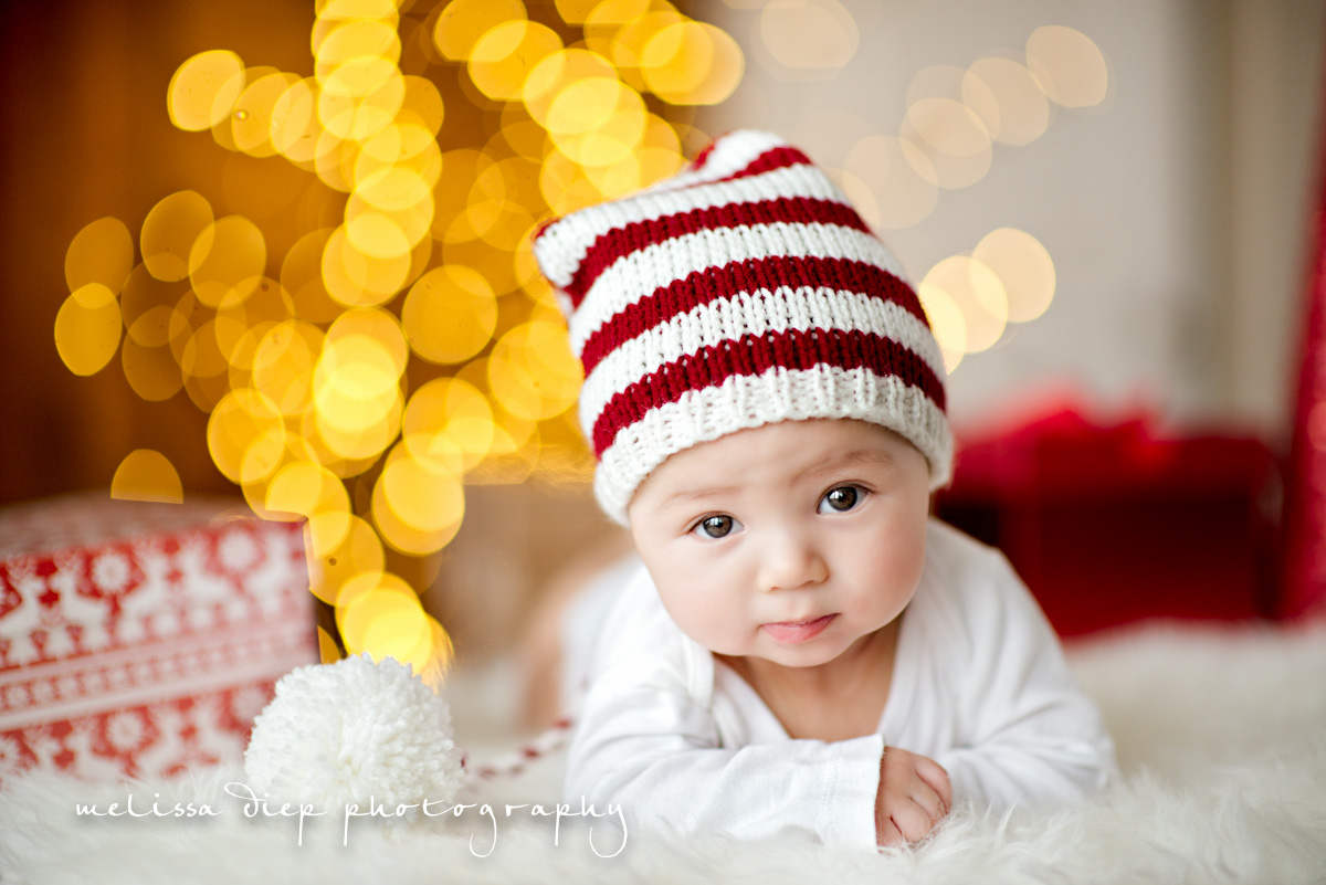 Unique Baby Holiday Card Easy Photography Tips
