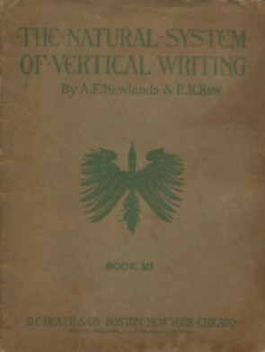 The Natural System of Vertical Writing