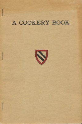 A Cookery Book