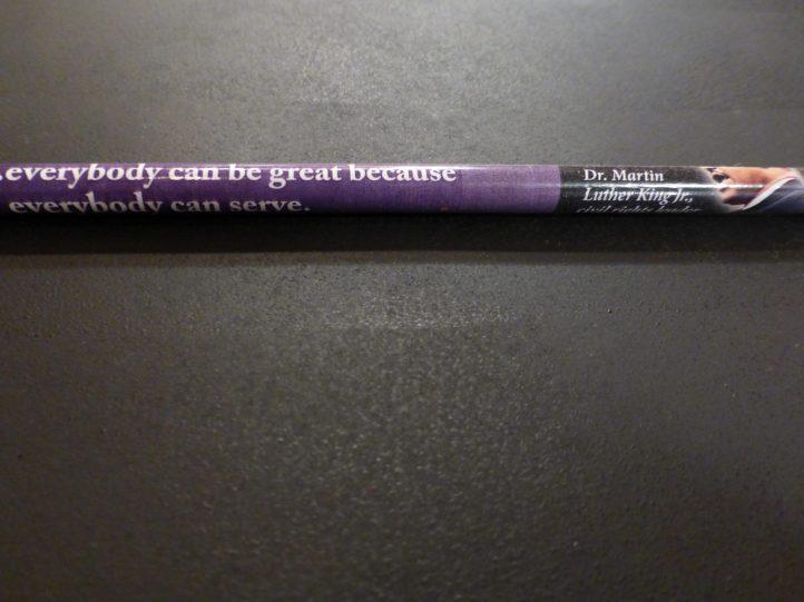 Black History Month pencil