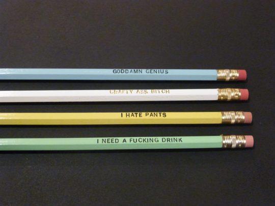 NSFW Pencils