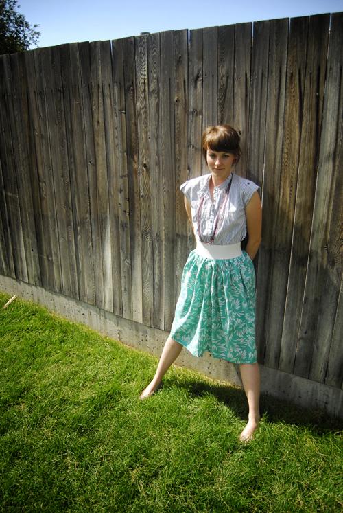 Sunday Best Muumuu skirt