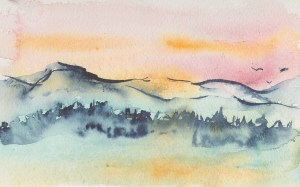 Imaginary Mountain View 0111