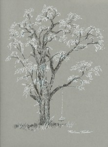 Locust Tree 081615