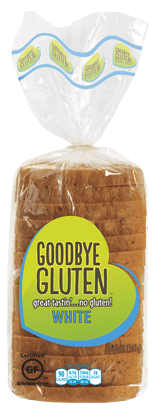 Goodbye Gluten White Bread