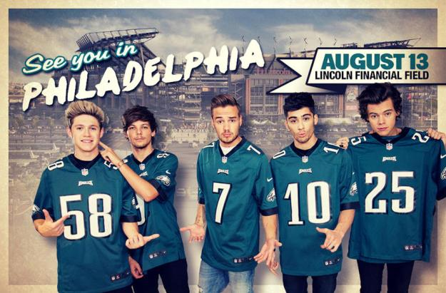One Direction - See You in Philadelphia - Aug 13, 2014