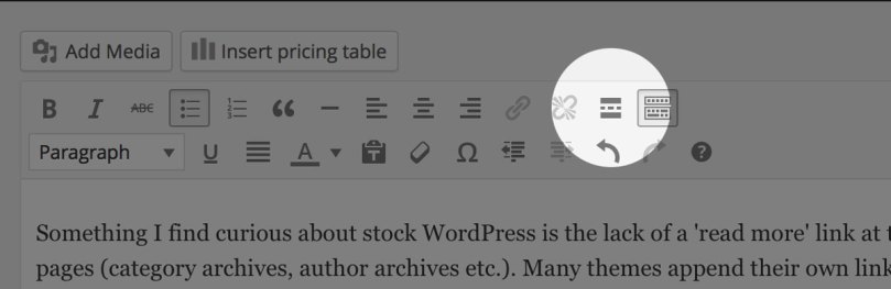 "How To Add ""Read More"" Links On WordPress"