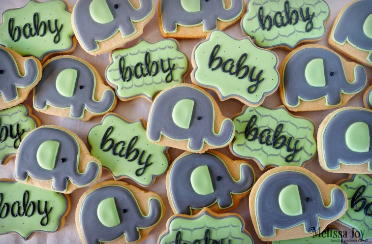 elephant-baby-shower-cookies