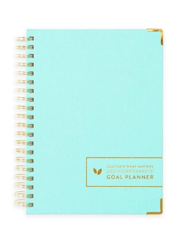 2021 One-Year PowerSheets® Goal Planner
