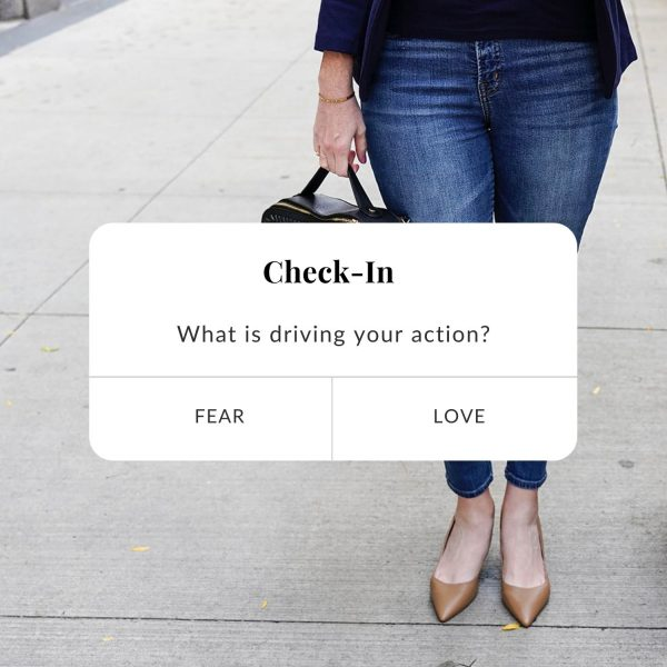 Melissa Kay Jones - Blog - Whats Driving Your Actions