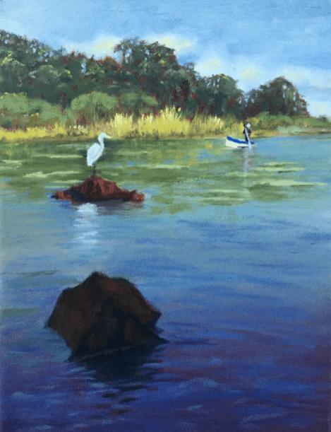 Fishing Lake Nicaragua Egret