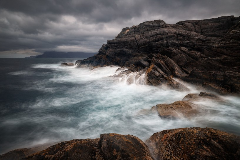 Standing on the Rock in the Storm