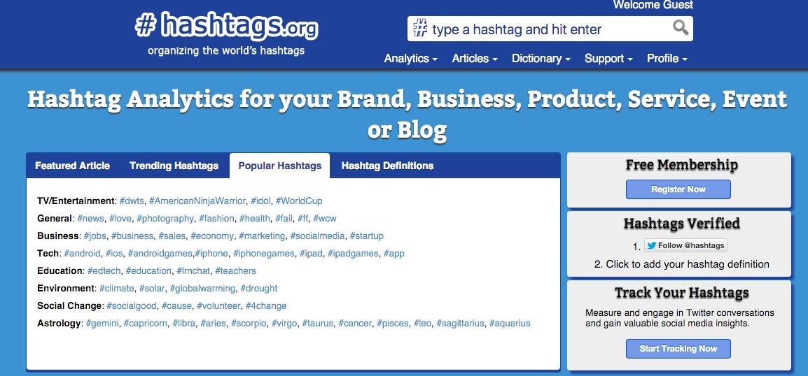 Hashtag Tools - Hashtags.org