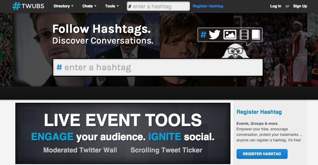 Hashtag Tools - Twubs
