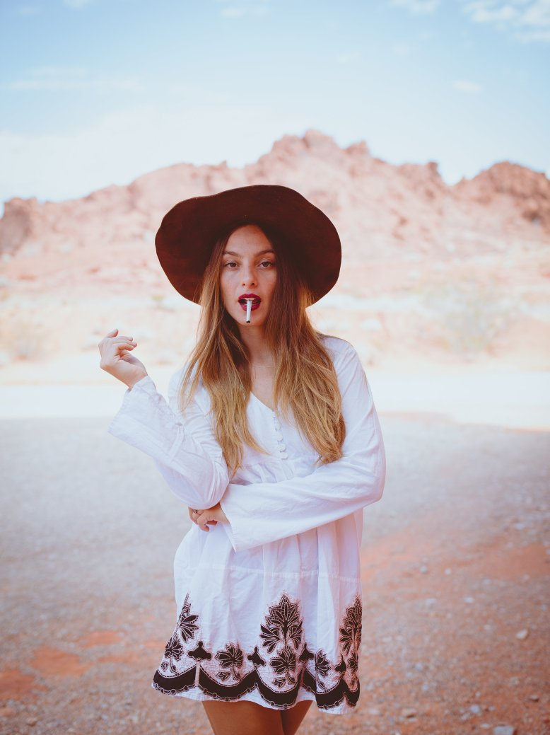 LIFESTYLE photos: Marlboro Woman, Valley of Fire, Nevada